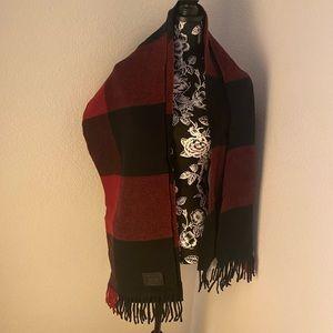 Coach wool pashmina scarf